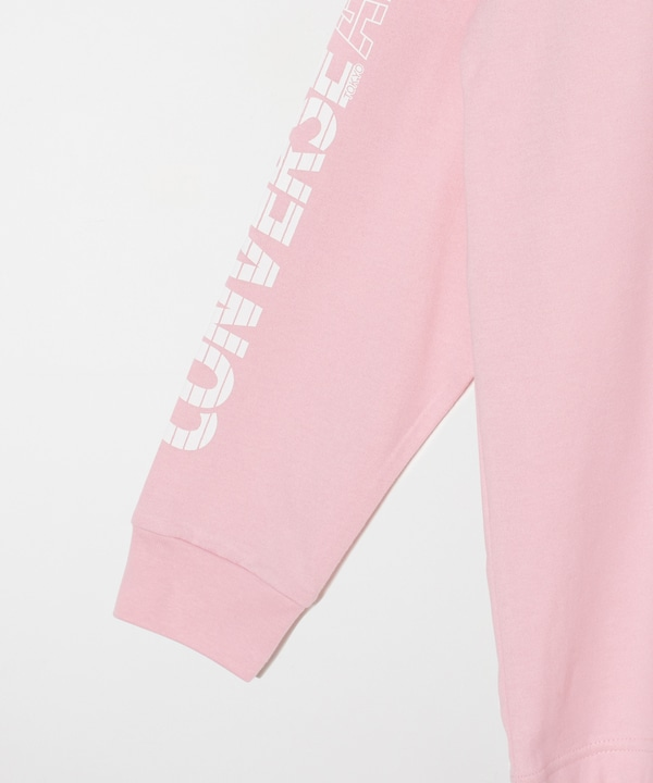 【CONVERSE TOKYO×WIND AND SEA】袖ロゴロングスリーブTシャツ 詳細画像 6